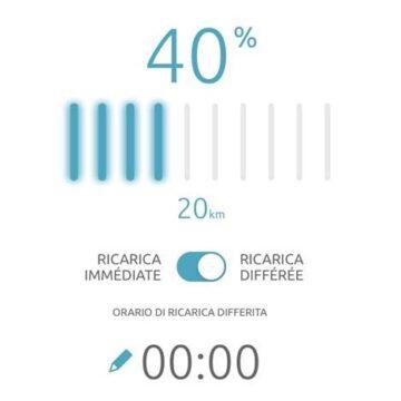La ricarica della nuova Citroën ec4 -100% ëlectric si programma con l'app