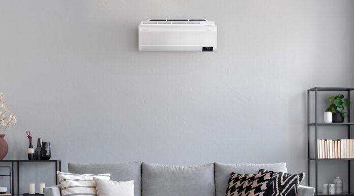 Climatizzatore a parete Samsung WindFree Pure 1.0, monitora e migliora l'aria