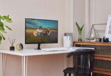 "Samsung Monitor Smart M7, all-in-one da 32"" con AirPlay"