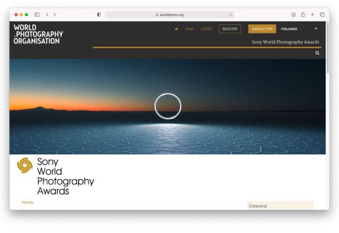 Annunciato il vincitore per l'Italia dei Sony World Photography Awards 2021