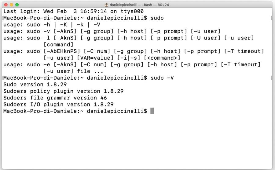 La vulnerabilità Sudo di Linux e BSD colpisce anche i Mac