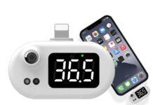 Termometro infrarossi per iPhone: solo 9 € per misurare la febbre senza contatto