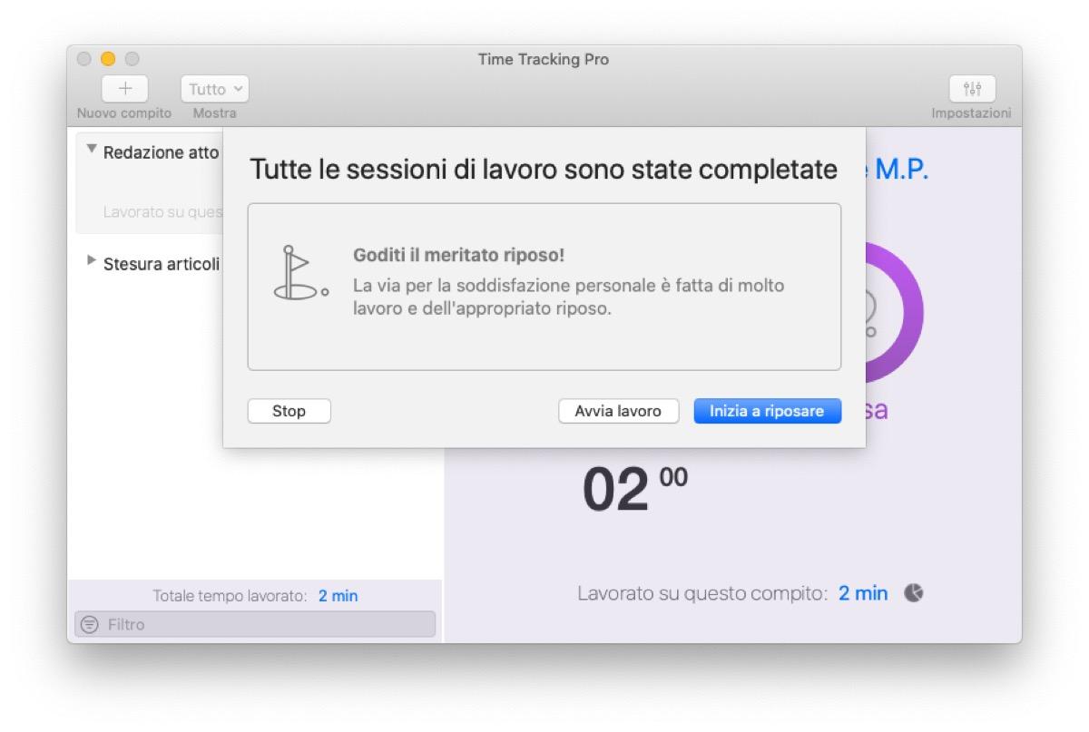 Recensione Time Tracking Pro per Mac, prendetevi cura del vostro tempo per organizzarlo al meglio e rendere di più