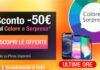 Ultime ore: iPhone scontati -50€ con il Colore a Sorpresa su TrenDevice. Termina oggi 28/2