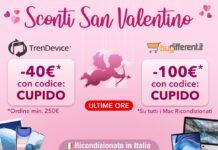 Ultime ore: Sconti fino a 100€ sui migliori Ricondizionati Hi-Tech TrenDevice e BuyDifferent