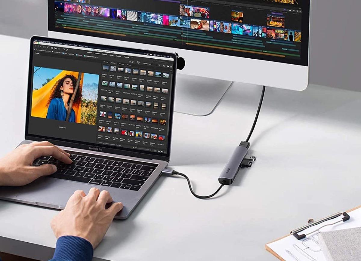 Ugreen 20197, hub USB-C con 4 USB e HDMI in offerta a 18,39 euro con codice
