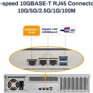 TerraMaster l'U8-111: super NAS con connessione Ethernet da 10 Gb