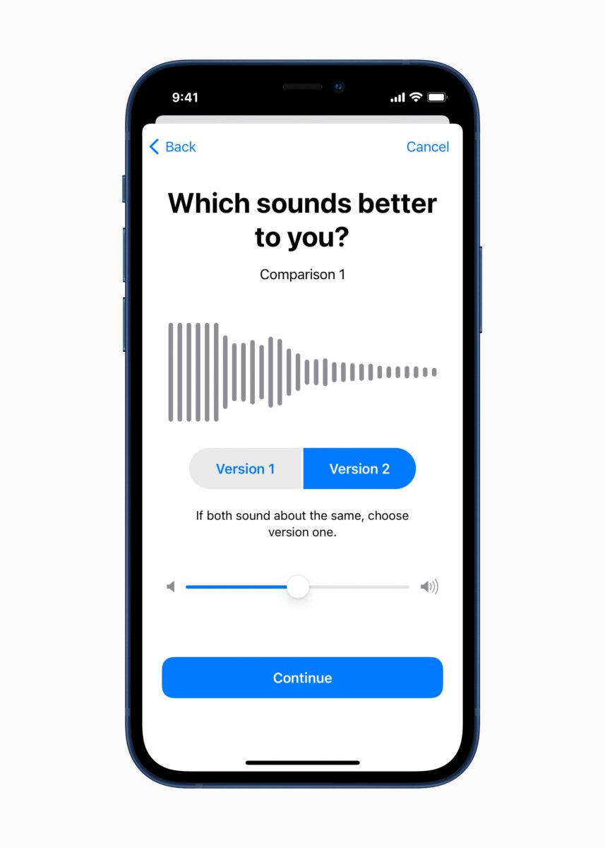 I dati dell'Apple Hearing Study sulla salute dell'udito