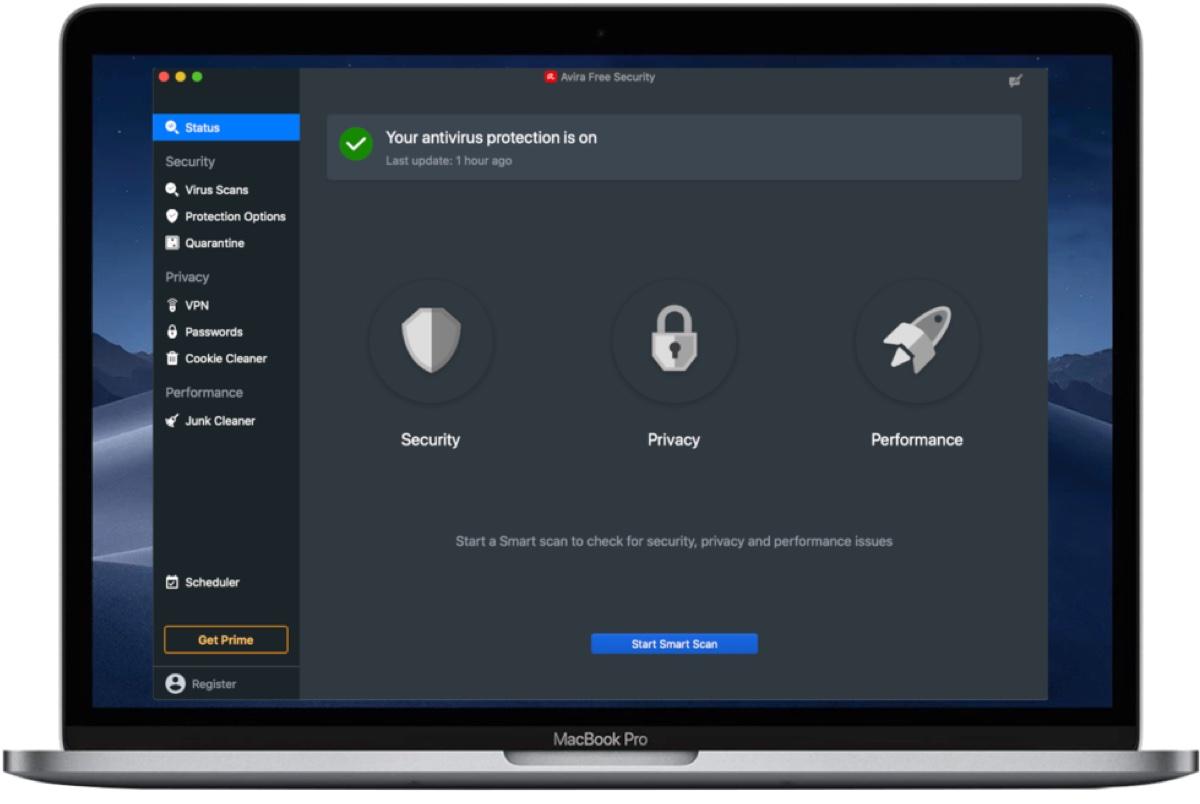Avira Security è lo strumento tutto in uno per la sicurezza Mac