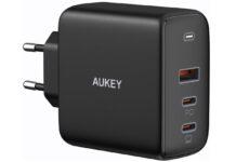 Aukey Omnia, sconto a 42,99 € per il caricabatterie da 90W che prende il posto di tutti gli altri