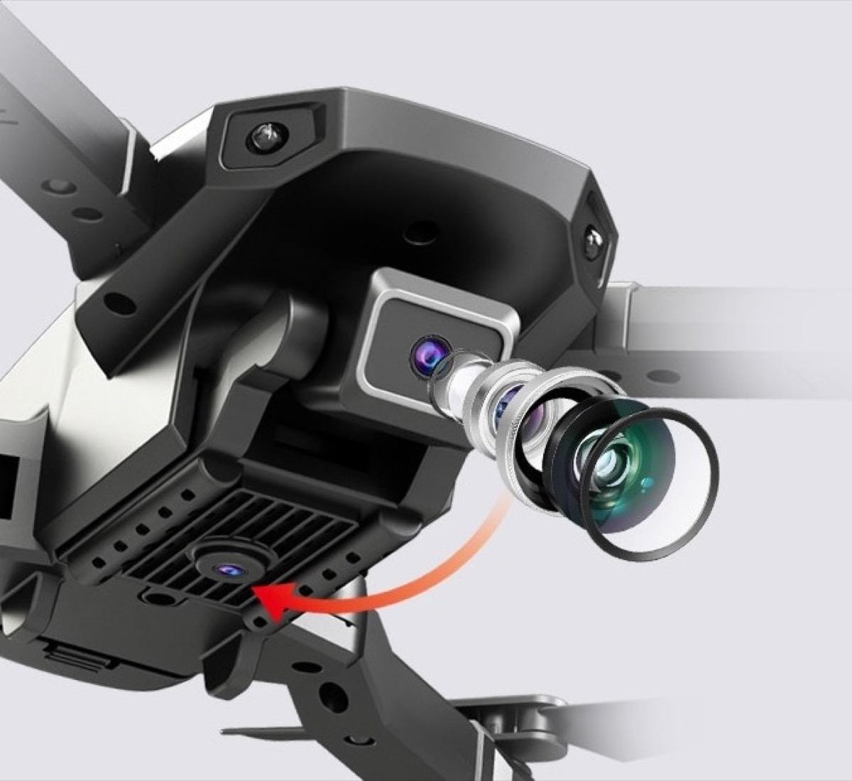 H3 RC, il drone quadricottero con doppia videocamera 4K in offerta a soli 29 €