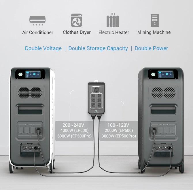Bluetti EP500 & EP500Pro, nuovi sistemi di accumulo ad energia solare