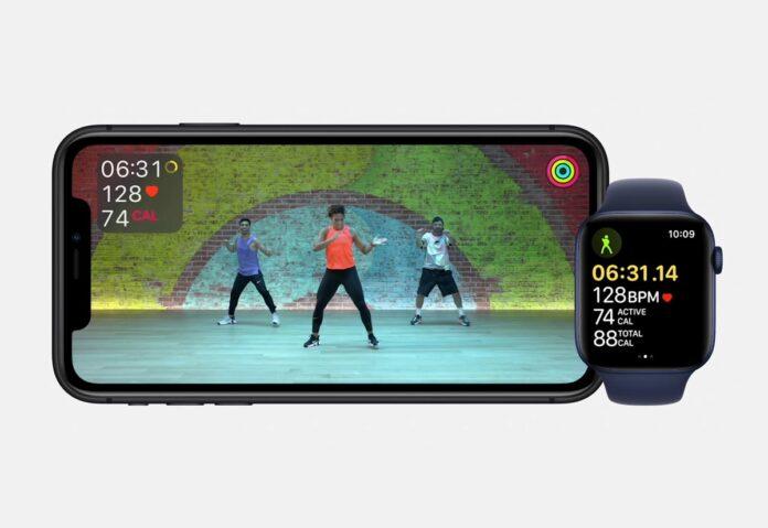 Uno sguardo agli studi di Apple Fitness+
