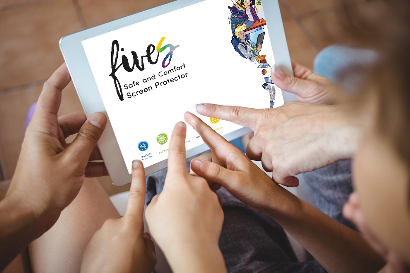 fives è la pellicola iPad che protegge  …