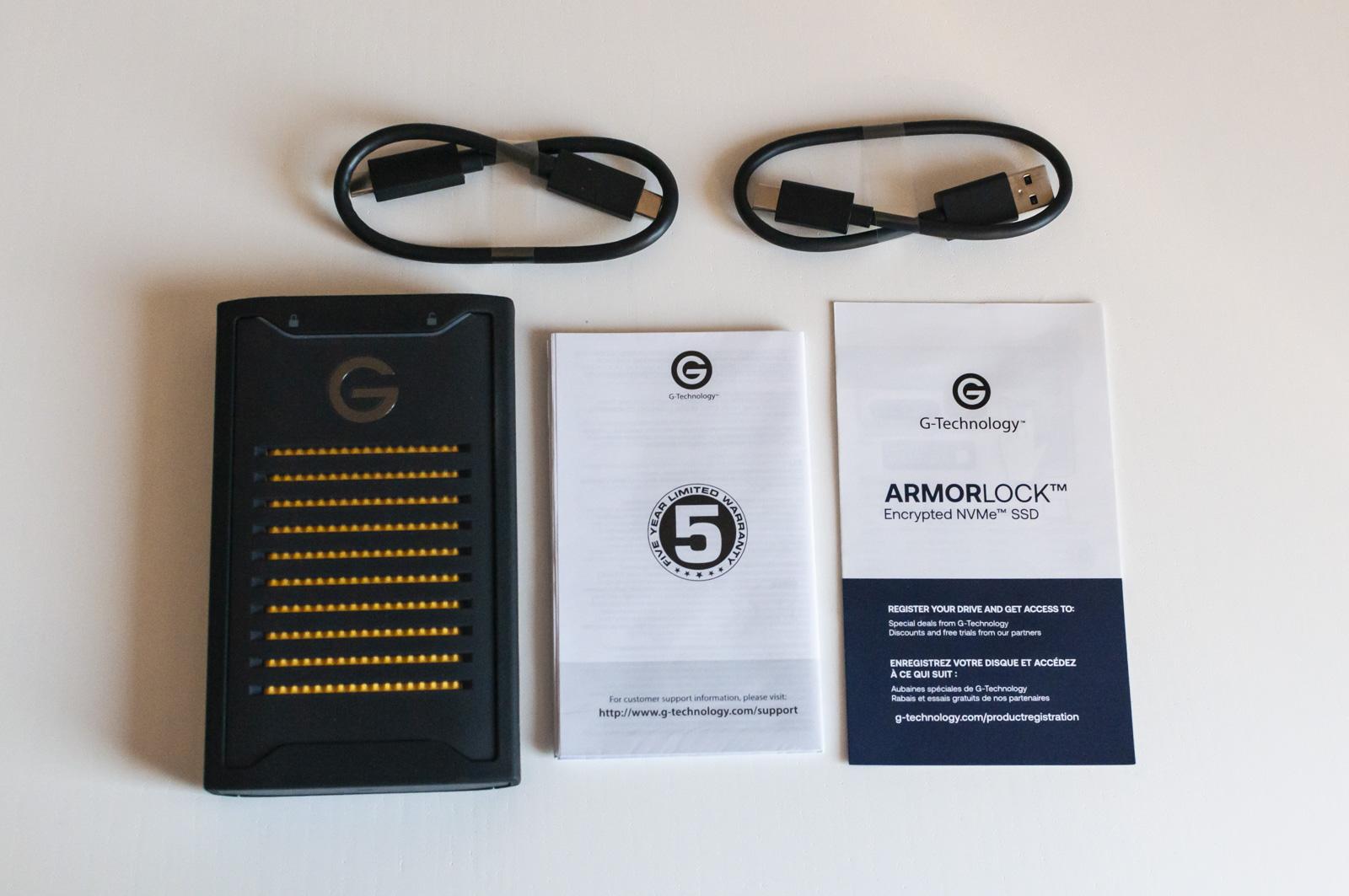Recensione G-Technology ArmorLock, la sicurezza di un server comodamente in tasca