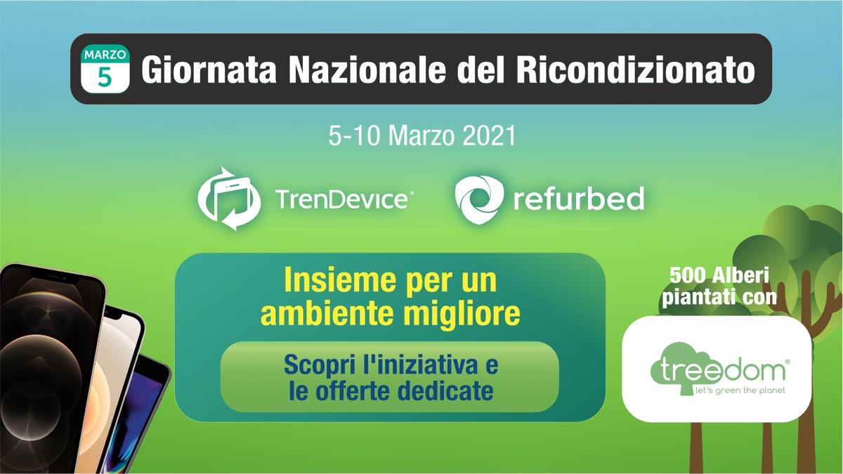 Giornata Nazionale del Ricondizionato: TrenDevice e Refurbed insieme per l'ambiente