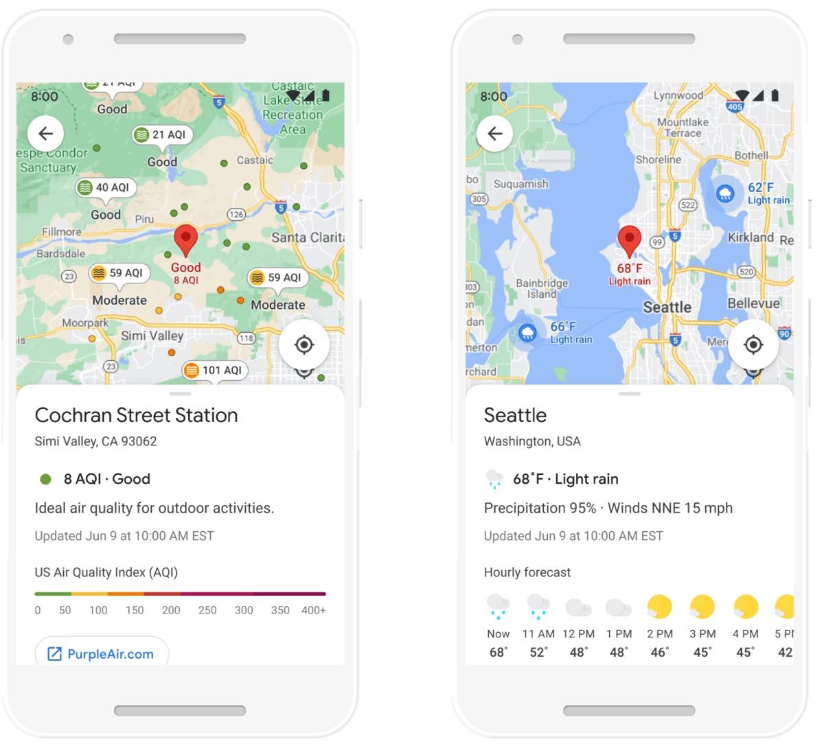 Google Maps mostra la navigazione in interni in realtà aumentata