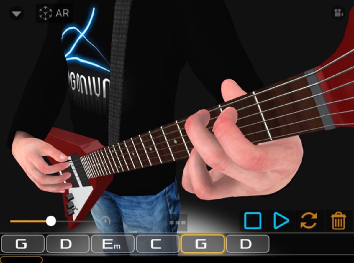 guitar 3d ar