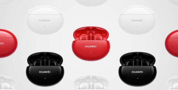 Huawei presenta gli auricolari FreeBuds 4i