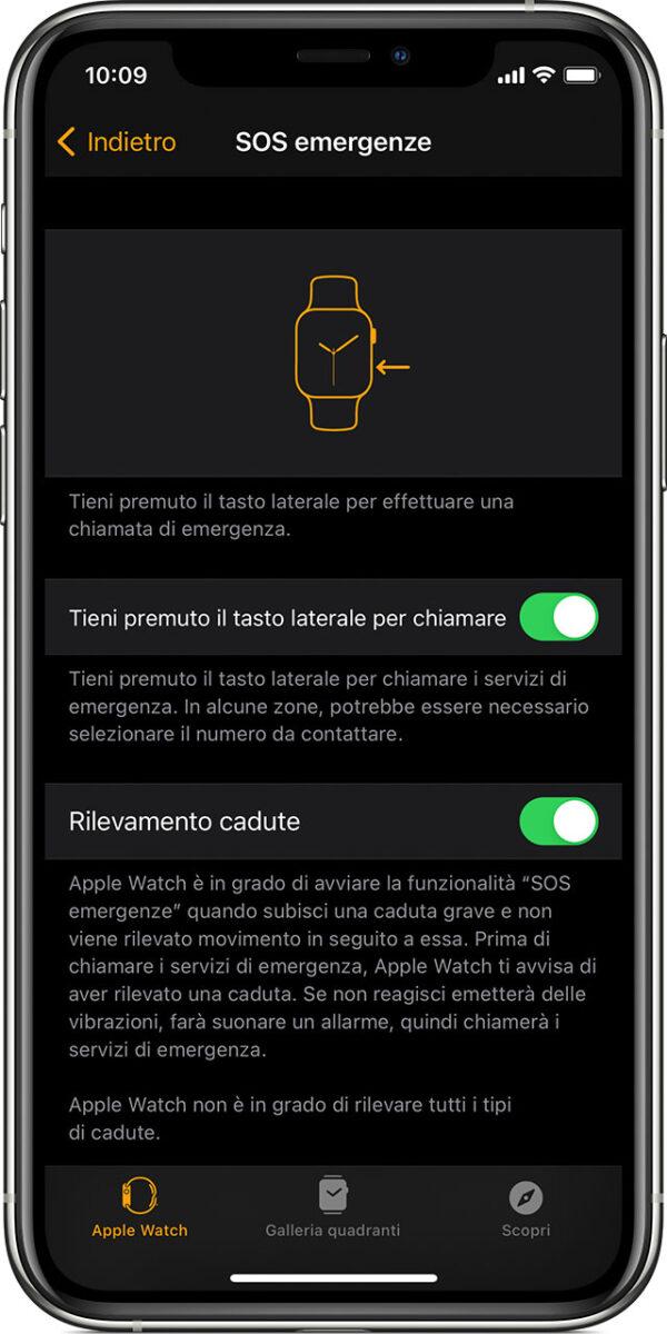Il rilevamento delle cadute tipo Apple Watch anche su altri dispositivi