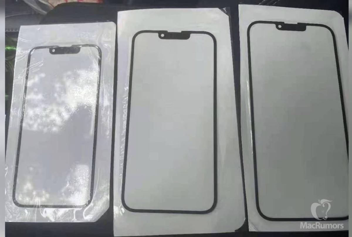 iPhone 13 con notch più piccoli, le prime presunte foto