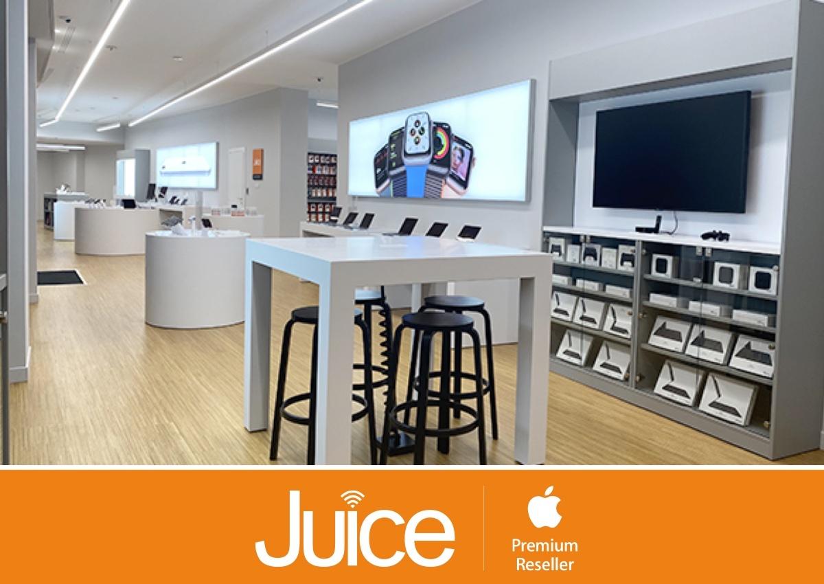 I negozi Juice sono aperti anche nelle zone rosse