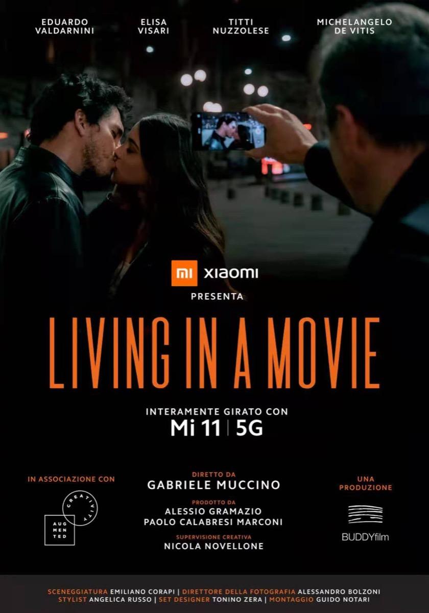 Da Xiaomi Living in a Movie, il cortometraggio di Muccino girato con Mi 11