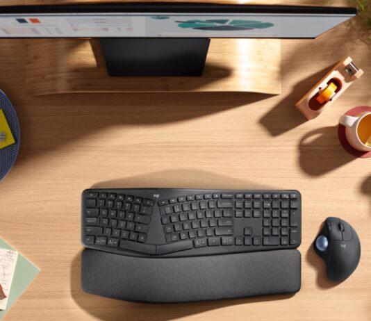 Logitech presenta mouse e tastiera Ergo per ergonomia e comfort