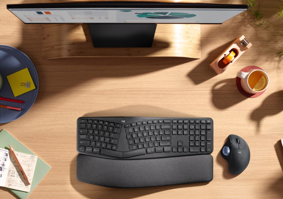 Logitech presenta mouse e tastiera Ergo  …