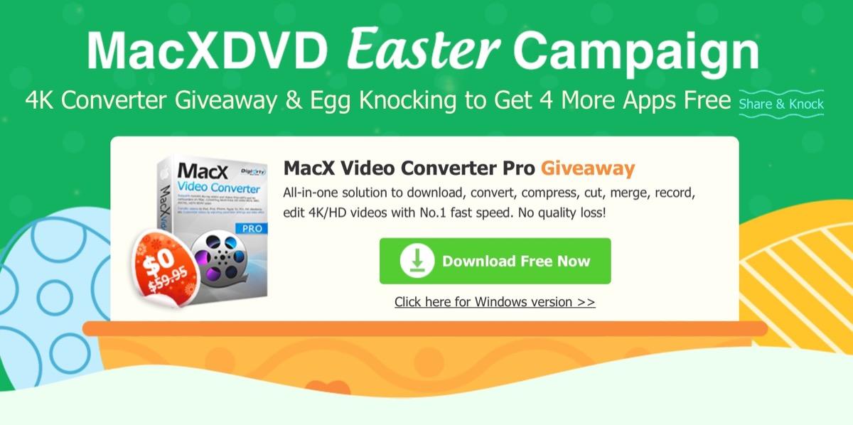 macx dvd pasqua