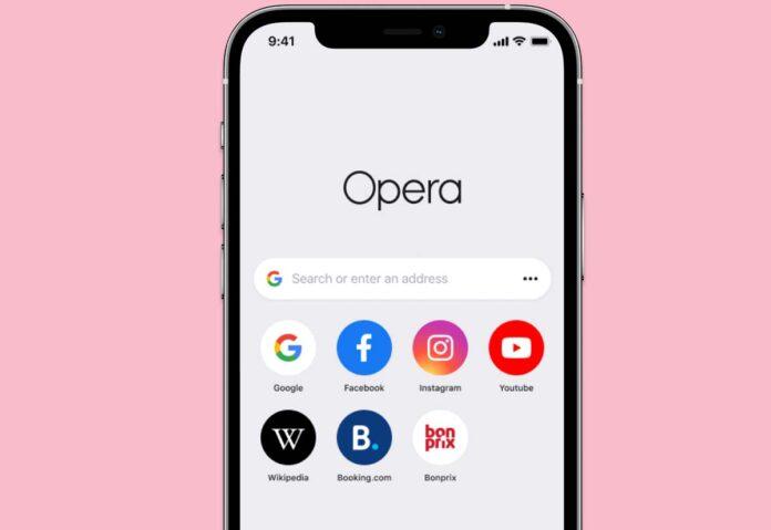 """Aggiornato Opera Touch per iPhone: ora si chiama solo """"Opera"""""""