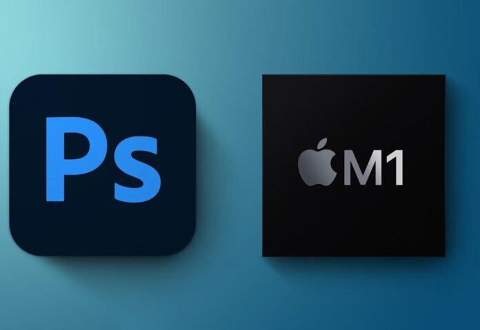 Photoshop per Mac M1 fino al 50% più veloce rispetto ai Mac equivalenti del 2019