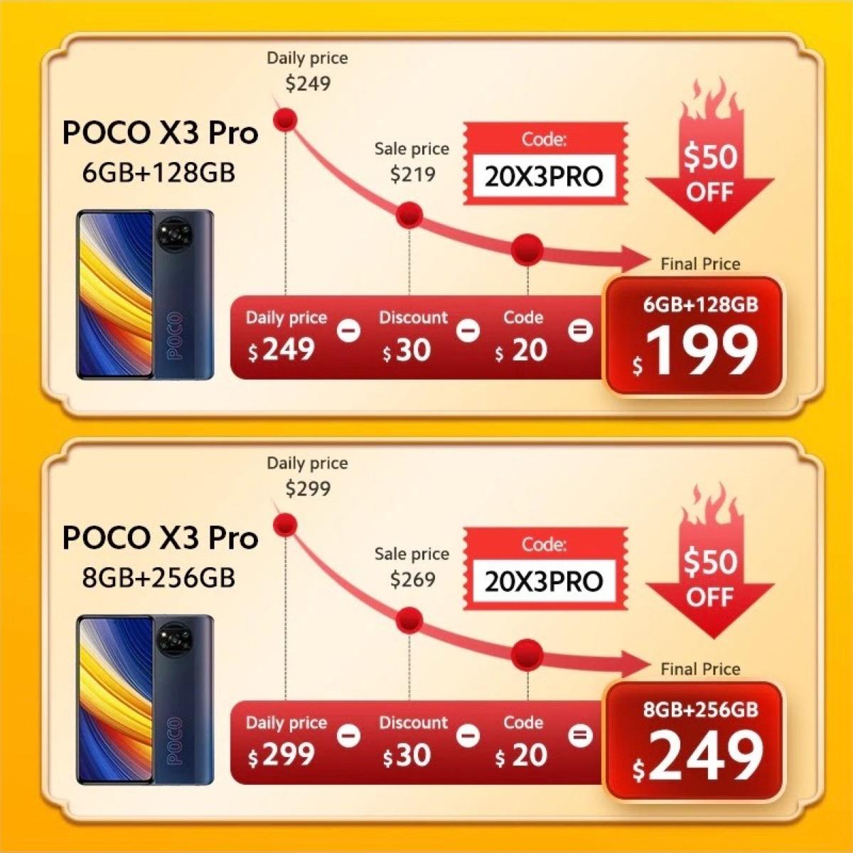 POCO X3 Pro, ancora per poco a 199 euro in offerta lancio