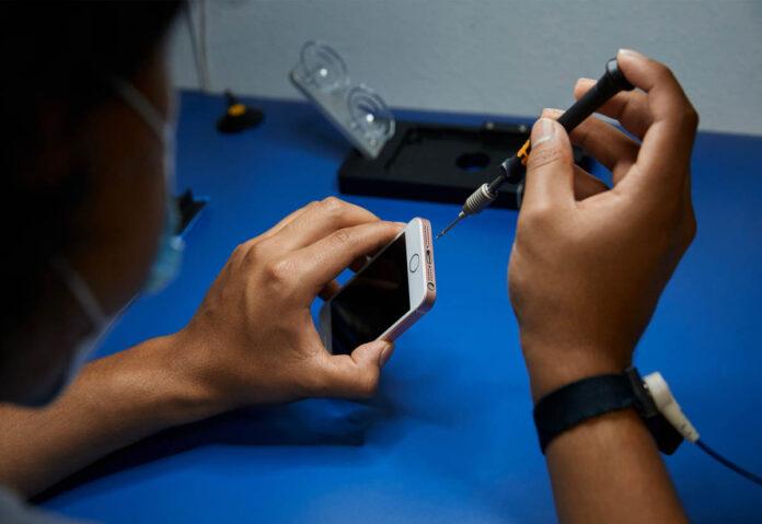 Apple espande i servizi di riparazione in tutto il mondo