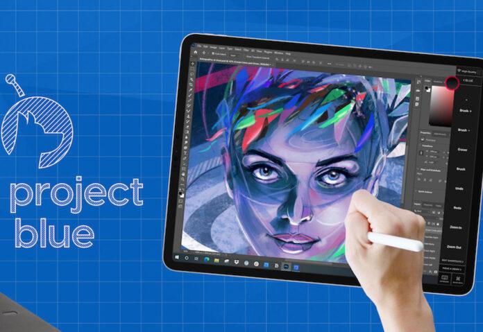 Project Blue trasforma l'iPad in tavoletta grafica per PC