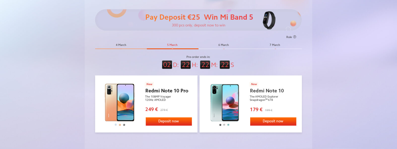 Redmi Note 10 e Note 10 Pro in vendita su Goboo a partire da 199 euro