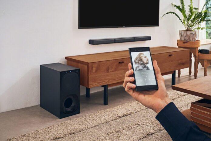 sistema home cinema Sony HT-S40R