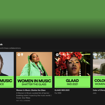 Spotify Equal supporta la parità e celebra le donne nella musica