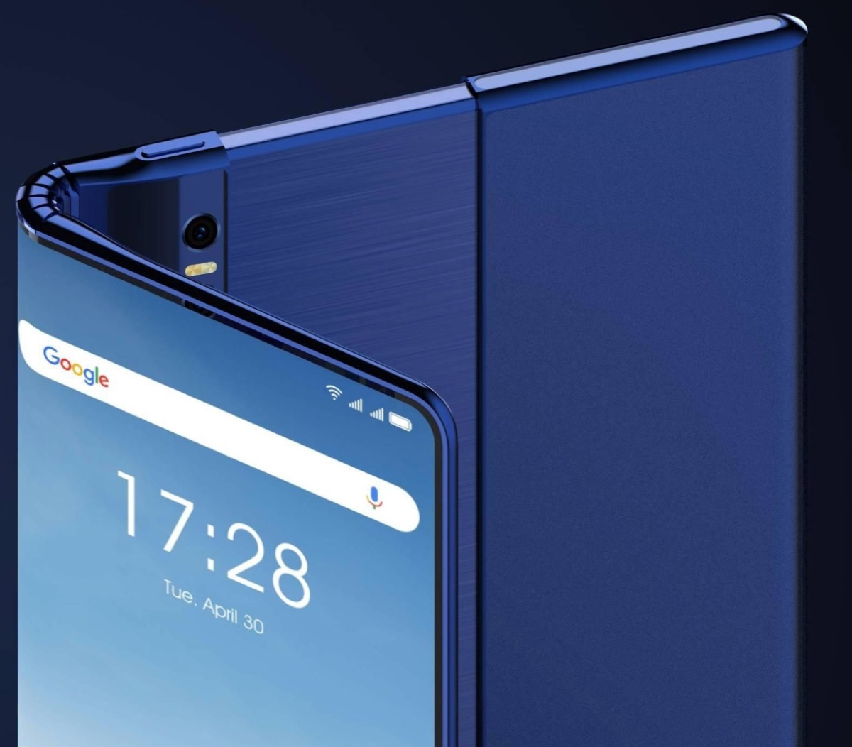 TCL pensa a uno smartphone pieghevole e arrotolabile