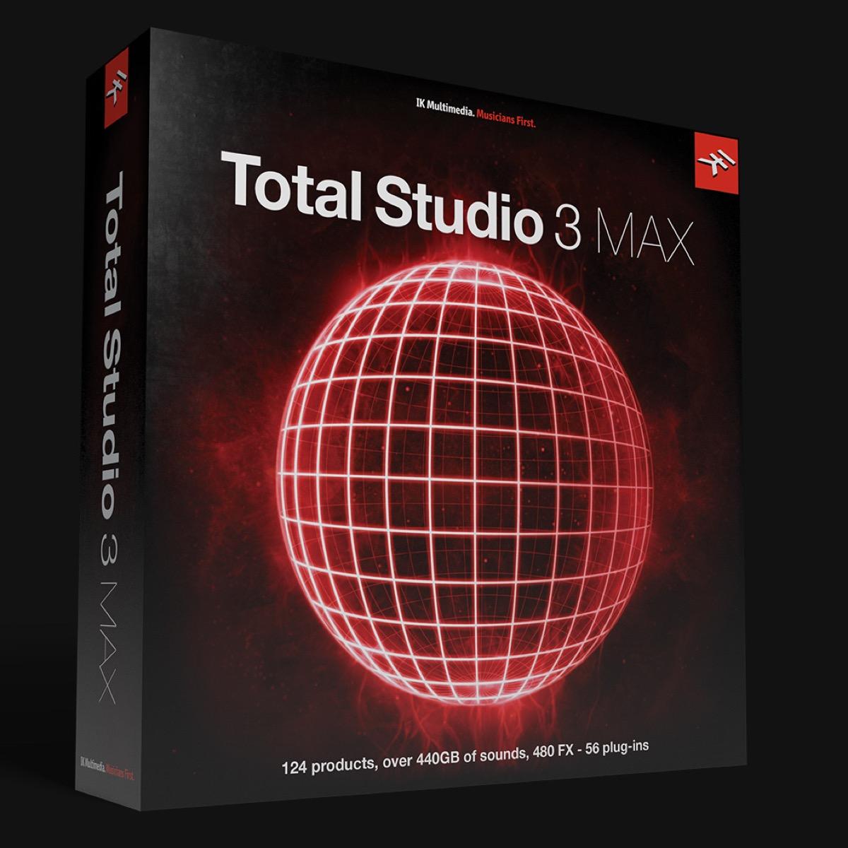 Total Studio 3 MAX, oltre 440 GB di software per creare musica