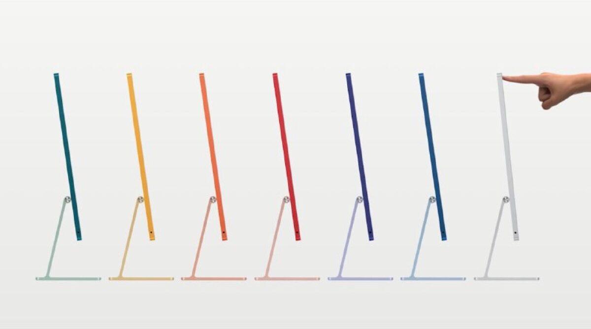Apple annuncia iMac M1 in diversi colori