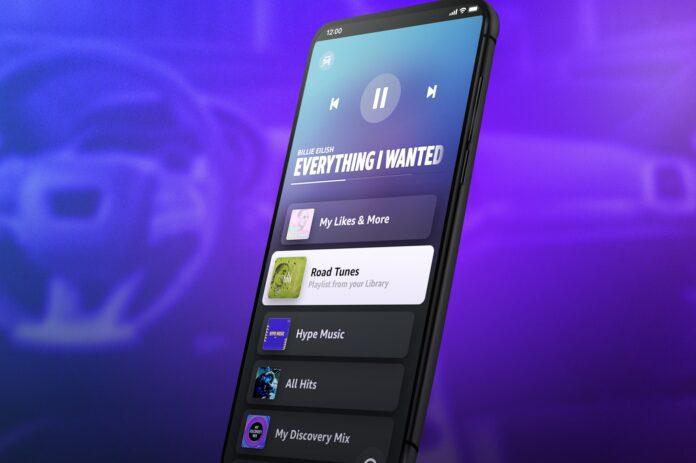 Amazon Music lancia la modalità auto per iPhone e Android