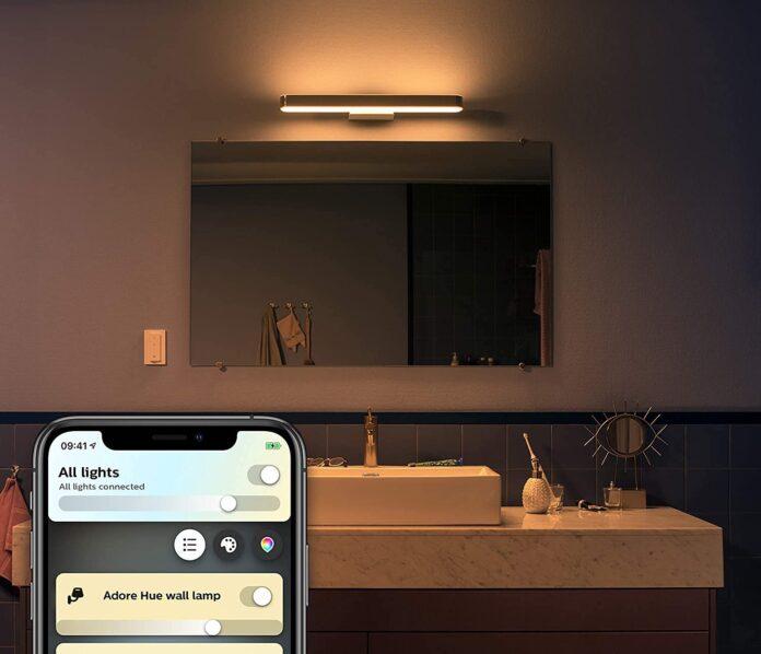 Philips Hue White Ambiance Adore è la lampada per rilassarsi in bagno