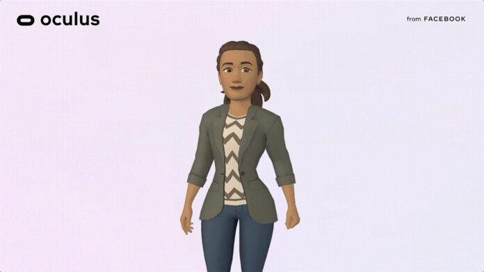 Oculus presenta i suoi avatar VR ancor più personalizzabili