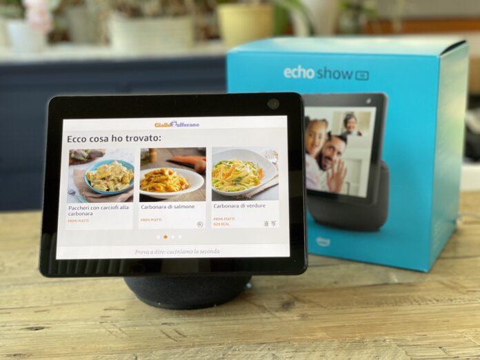 Unboxing e prime impressioni Amazon Alexa Echo Show terza generazione da 10″