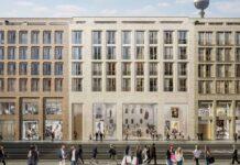 Proseguono i lavori per il secondo negozio Apple a Berlino
