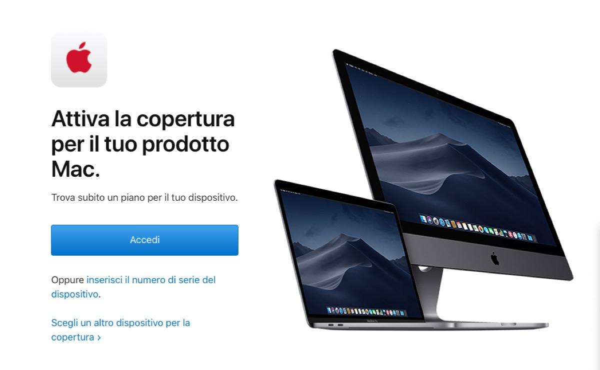 Apple estende AppleCare+ per Mac oltre i tre anni, non in Italia