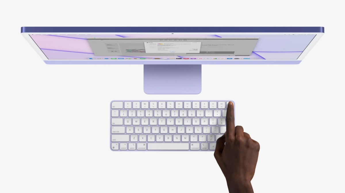 Apple presenta la nuova Magic Keyboard con Touch ID