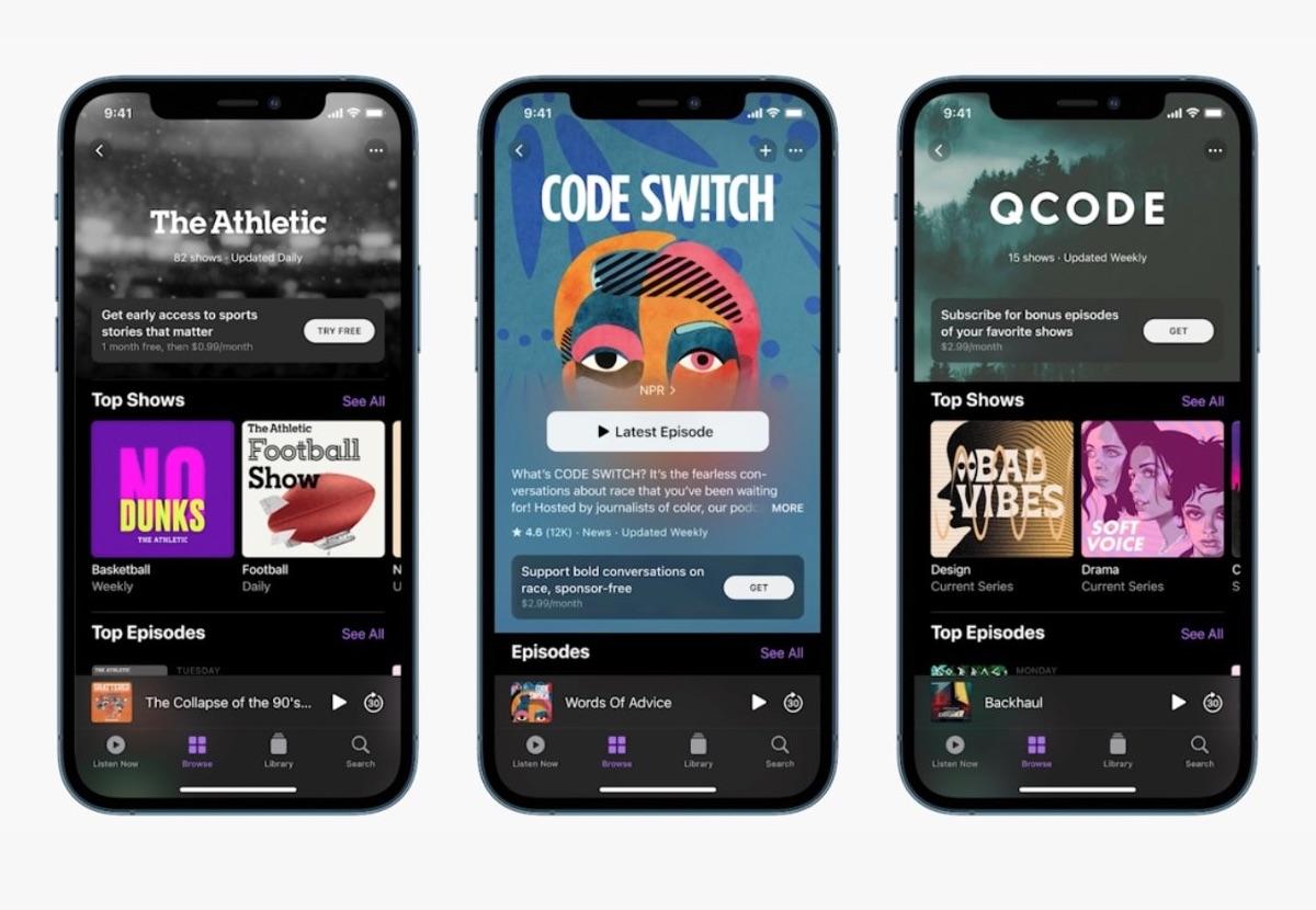 apple podcast affiliazione