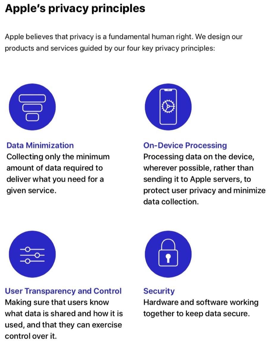 Apple spiega come funziona la pubblicità che tutela la privacy